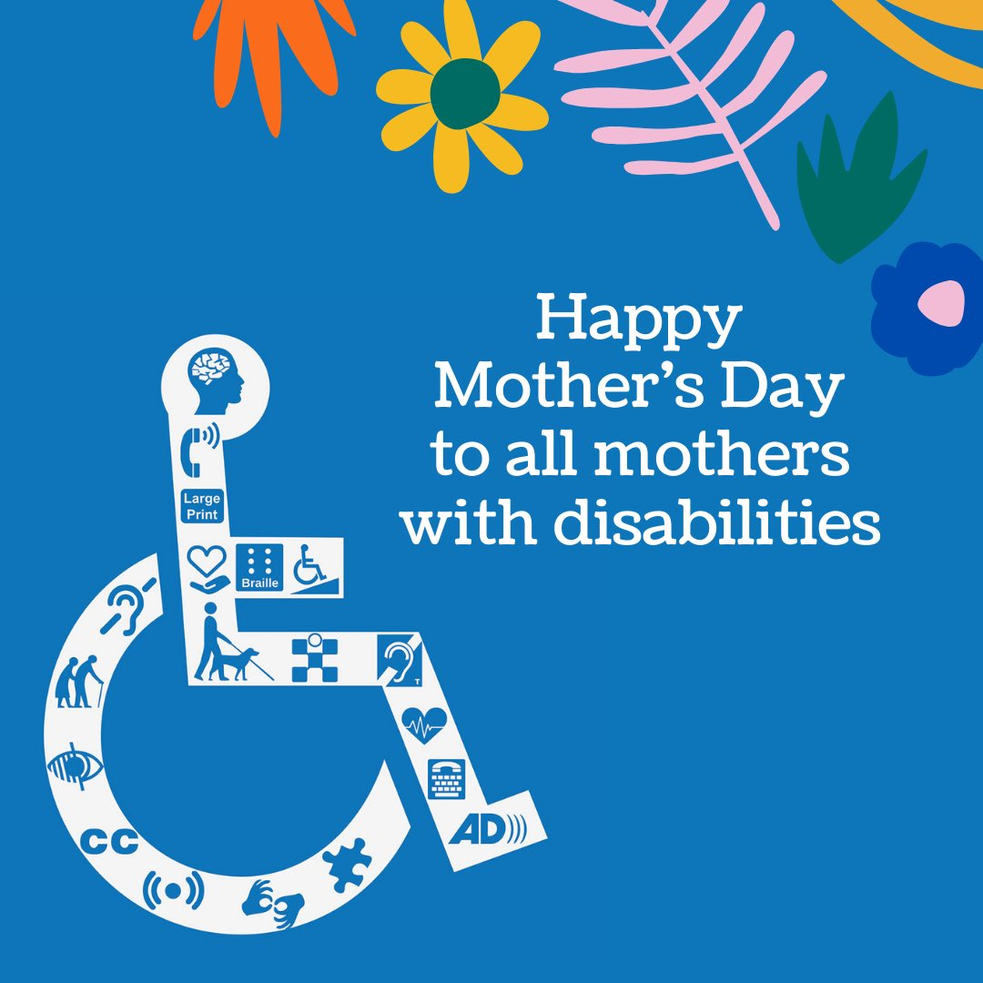 Happy mother's day to moms with disabilities who have to fight everyday just to parent ❤️ https://t.co/JdwKxxB9BU