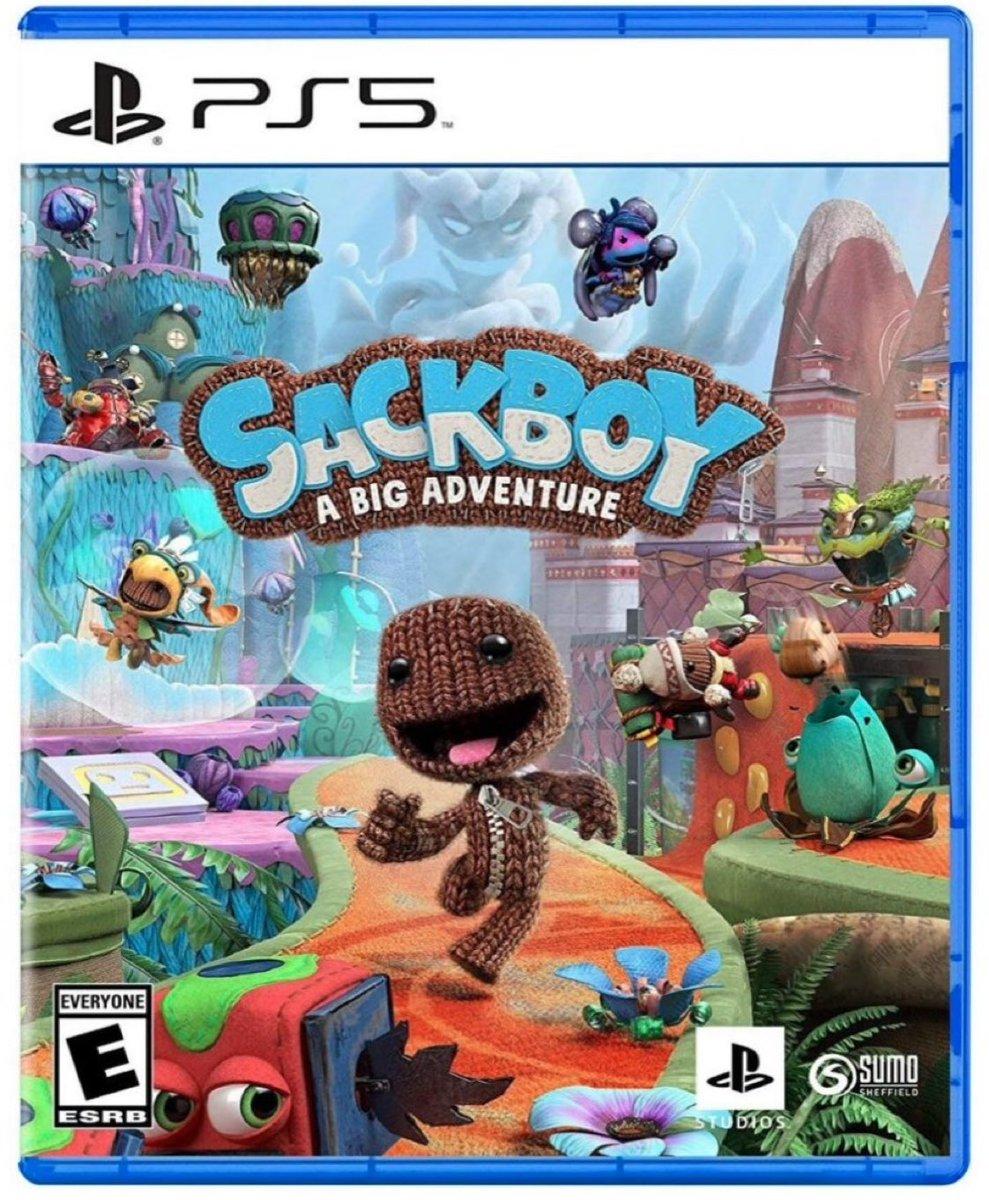 Sackboy: A Big Adventure PS5  PlayStation Studios $59.88  Amazon USA 2