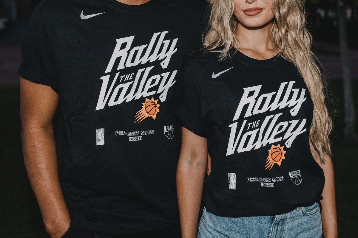 For @tanduayrhumph Rally Around The World night, we're picking 10 fans to win the Suns official playoff tee!  All you have to do is post a photo below of you reppin' Suns gear in your home town and tell us where you live!  Giveaway open to ALL Suns fans, international included 🧡 https://t.co/4vtmawCsiF