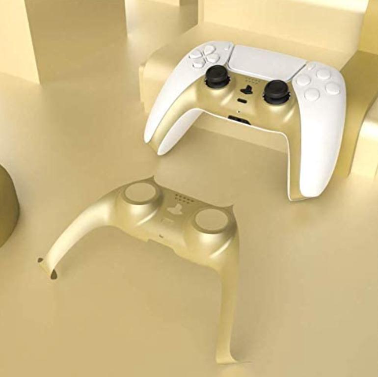 PS5 DualSense Shell Gold $9.99  Amazon USA 2