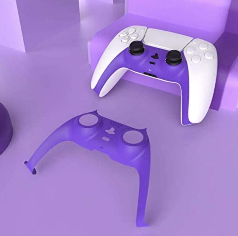 PS5 DualSense Shell Purple $9.99  Amazon USA 2