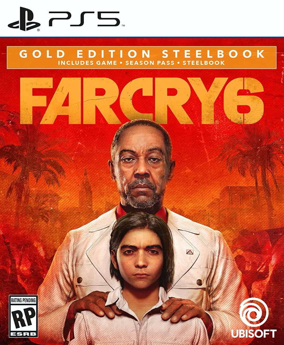 Far Cry 6 Gold Steelbook Edition PS5 $109.98  Amazon USA