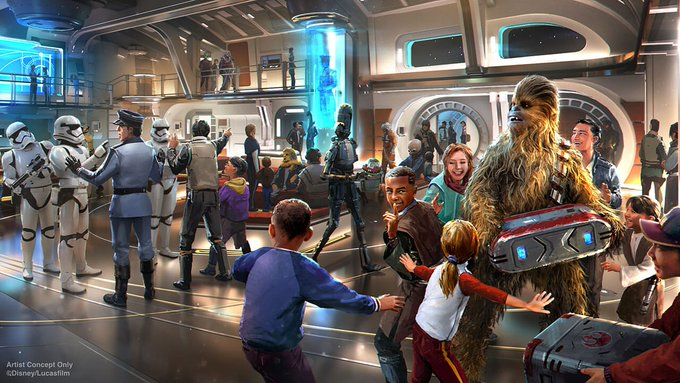Star Wars: Galactic Starcruiser Will Include Signature Services White Glove Concierge to Help Get Whatever Guests Want at Walt Disney World Photo