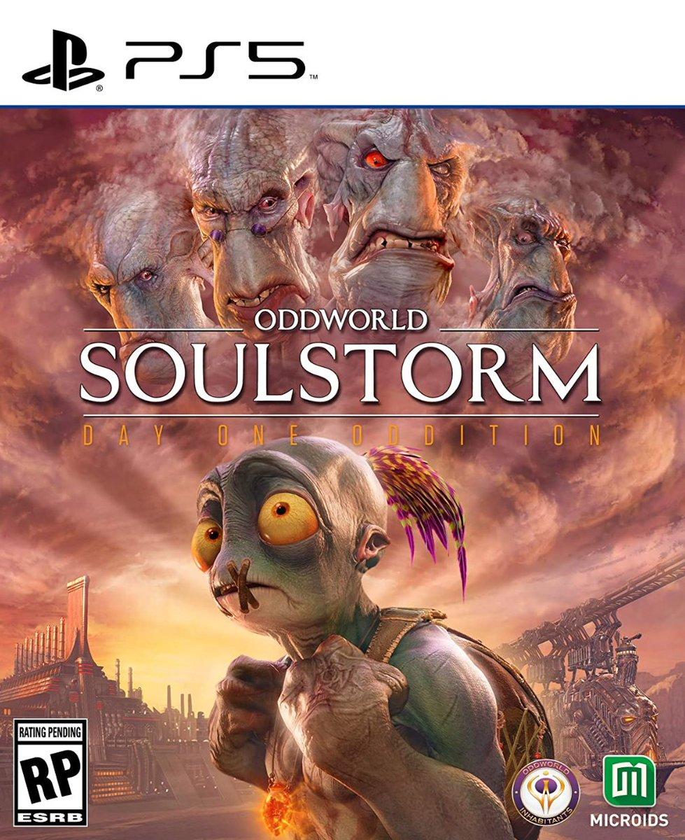 Oddworld: Soulstorm  Day One Oddition PS5 $49.99  Amazon USA 2