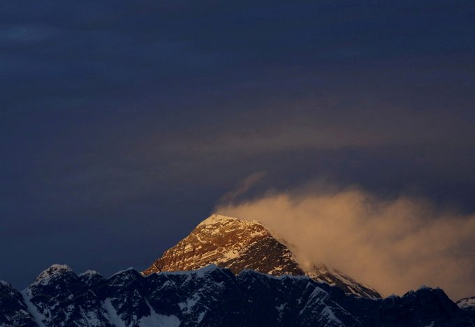 China to Create Line of Separation at Everest Summit on COVID Fears Photo