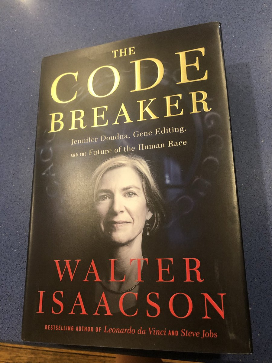 "test Twitter Media - ""Code Breaker"" is an excellent read. The author makes the science accessible (& does a decent job on the patent aspects), but he really shines in telling the stories of the people involved—colleagues and competitors. Their interactions are not always pretty, but quite fascinating https://t.co/dWhkM0iJqe"