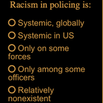 Image for the Tweet beginning: POLL: How common is racism