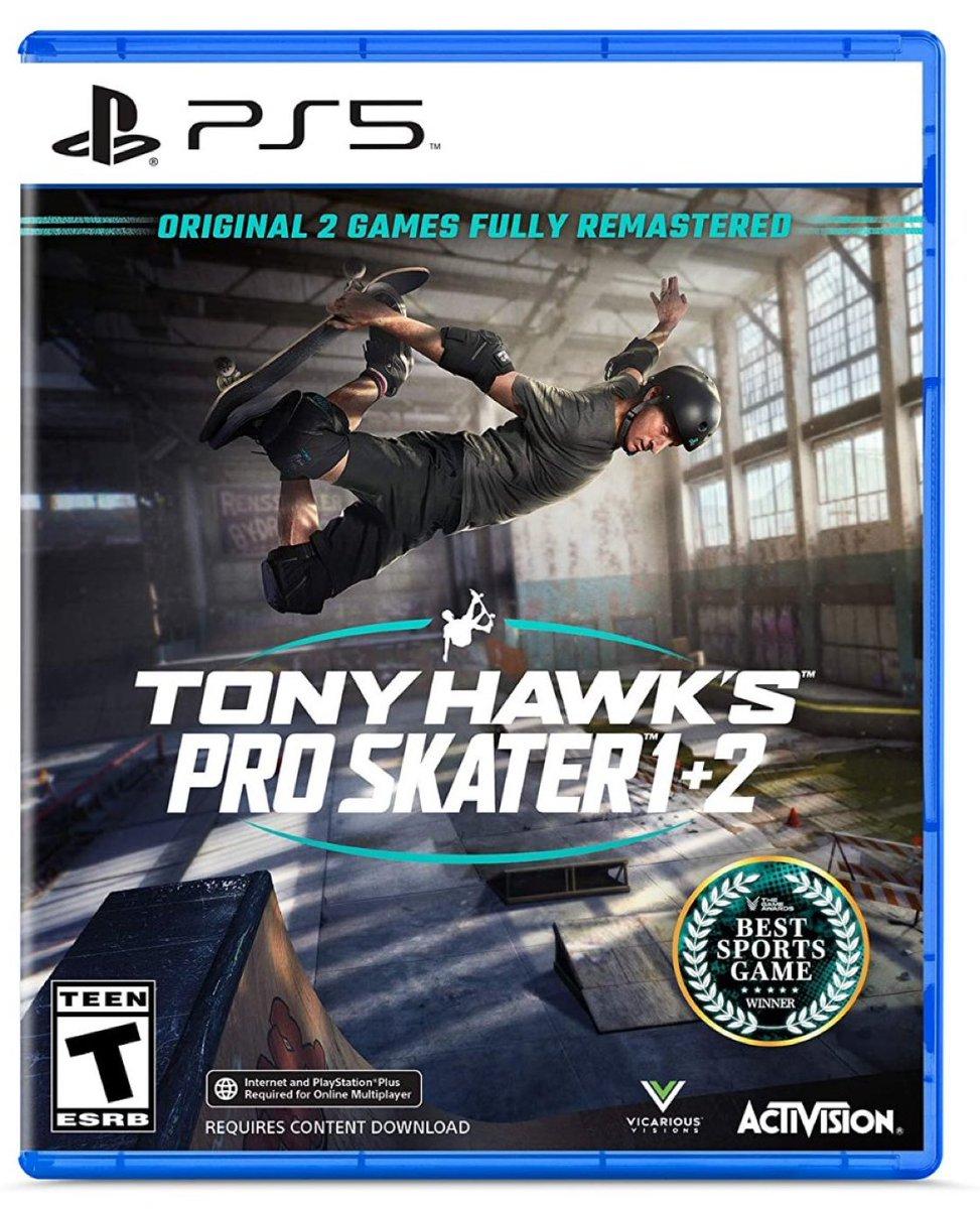 Tony Hawk's Pro Skater 1+2 PS5  Was $49.99 Now $41.88  Amazon USA 2