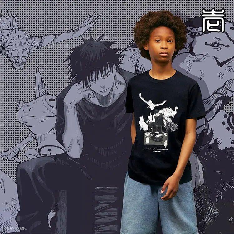 Shiro Gojo Satoru On Twitter Jujutsu Kaisen X Uniqlo Ut Collection T Shirts Link Https T Co Alnegcnmio Https T Co Tvsqyp2enu