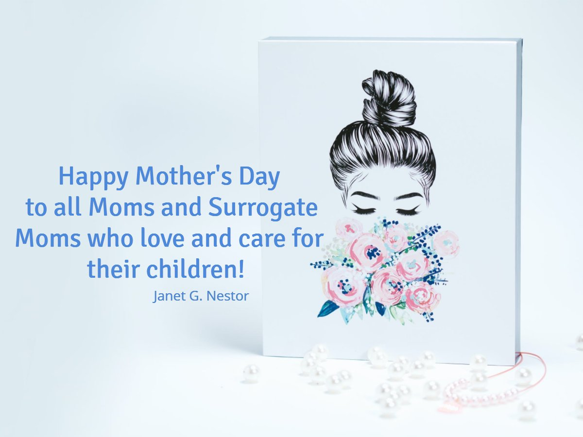 Happy Mother's Day!  All the mom's and surrogate mom's out there!  Have a great day. Celebrate the new life you brought into the world.  #IAMChoosingLove #LUTL #GoldenHearts #RadicalSelfCare #LoveMatters #KindnessMatters #MothersMatter. #Gratitude #MothersDay