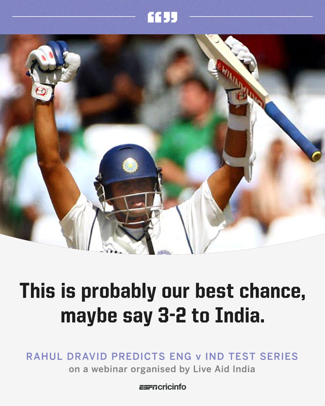Rahul Dravid predicts 3-2 scoreline in Indias best chance to win in England Photo