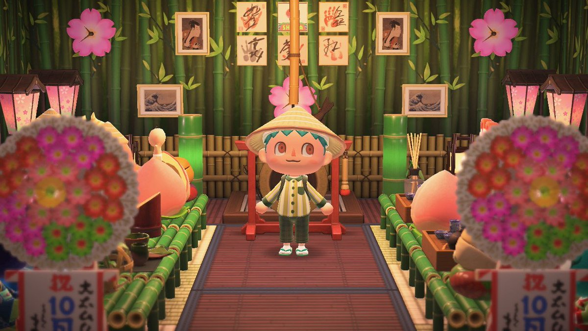 Just held a commemoration ceremony for the completion of villagers for Shima's season 1!!! 💚💚💚 My sister the island rep is quite furious there's no more room for another 😅  #ACNH #AnimalCrossing #sly #tammy #nibbles #lucy #clay #jacques #beau #flora #elvis #tiffany