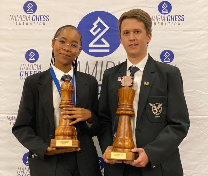 test Twitter Media - IM Dante Beukes and WCM Lishen Mentile Crowned Namibia Champions.   IM Dante Beukes won his third national title with a perfect score of 9/9. For WCM Lishen Mentile it is her fifth title.   https://t.co/oZiOsTU4CF https://t.co/u0hKbdYRnN