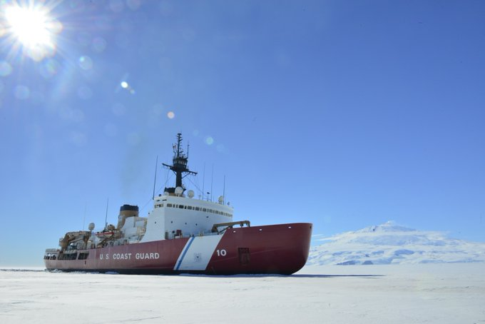 Biden admin faces lack of icebreakers, increasing Russian and Chinese threats in Arctic Photo
