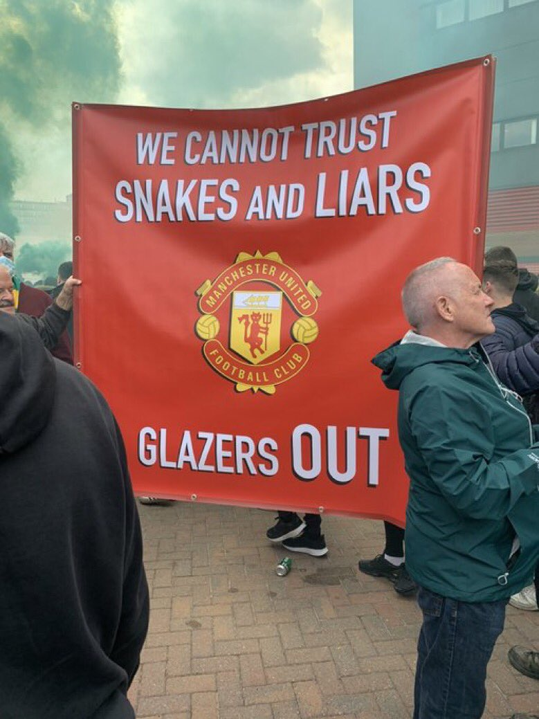 @Mike_Phelan_1 We want the Glazers out and we not stopping no matter what #NotAPennyMore https://t.co/TOrgk7RXA2