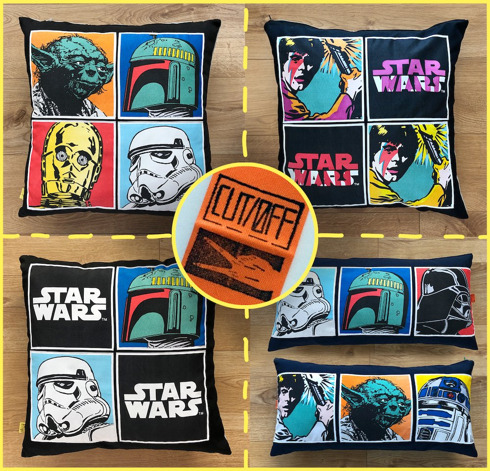 #StarWarsDay has gone..but if you're looking for #FathersDay #giftideas & Star Wars happens to be a favourite - check out my range of #upcycled cushion covers repurposed from #secondhand curtains here https://t.co/NcT4jyIh8A♻️🌍💚 #UkCraftersHour #UKGiftAM #shopindie #smallbiz https://t.co/JXobDJCfN2