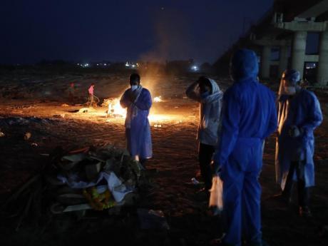 Coronavirus Cases Still Surging in India Photo