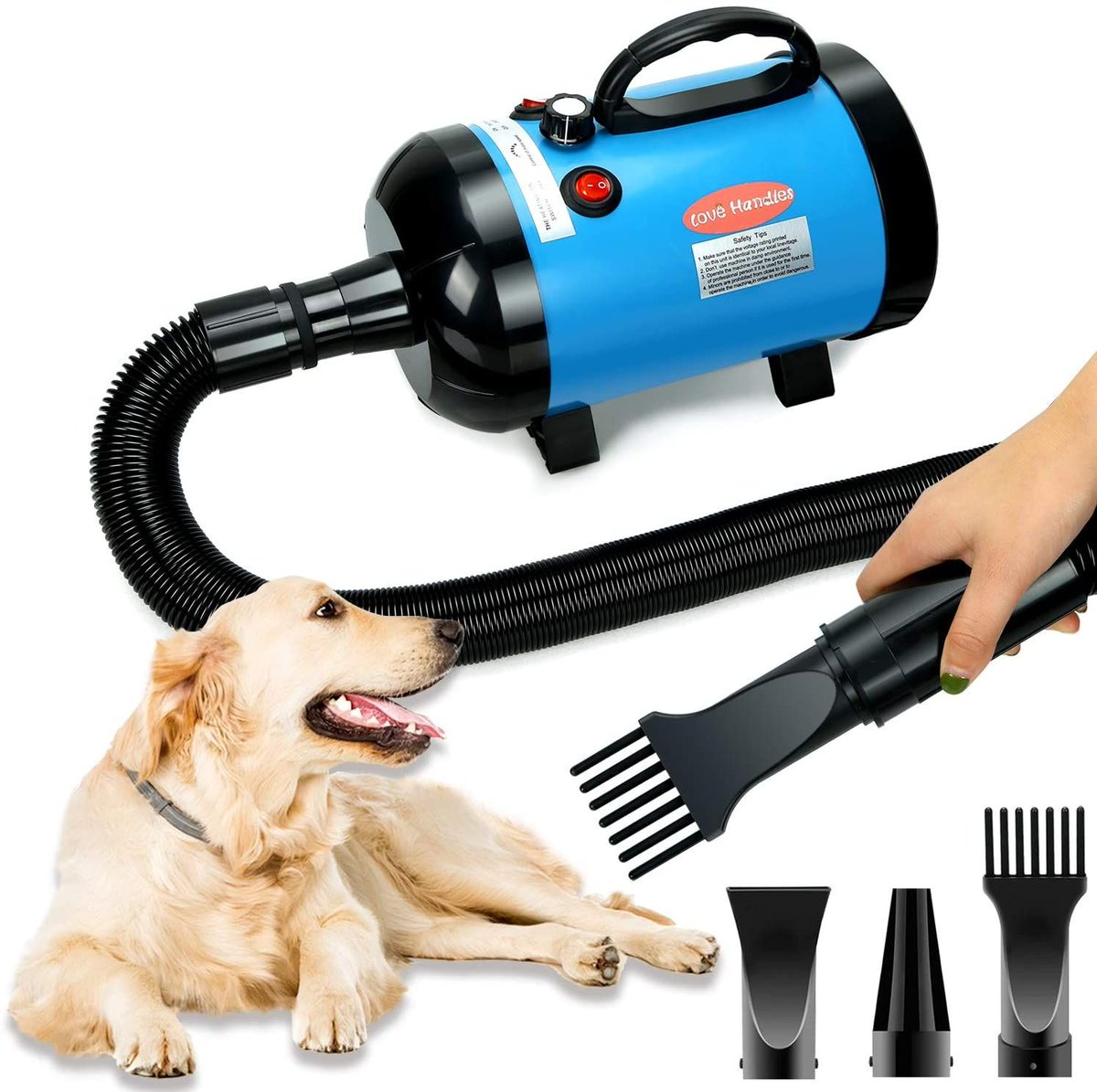 ad: $54 (50% off)  Pet Hair Dryer  use code 96ZO6BIG at checkout  Link0 Link0