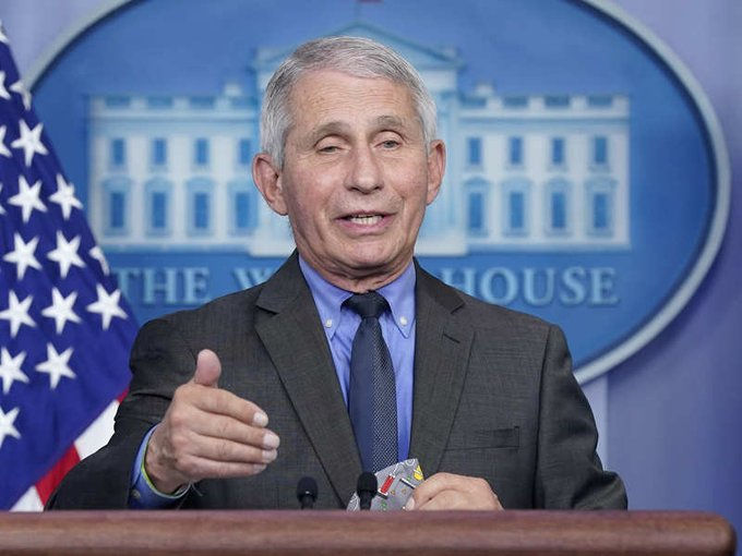 Fauci advises India to shut down amid crisis Photo