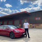 Image for the Tweet beginning: Hired myself a model 3