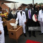 Image for the Tweet beginning: Images from the #AndrewBrownJr funeral