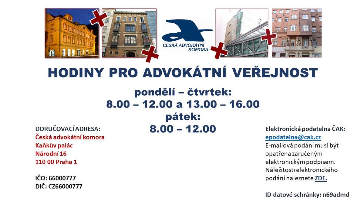 """test Twitter Media - 🔔Od zítřka, 10. května, se hodiny pro advokátní veřejnost vracejí k """"normálu"""", @CAK_cz bude otevřena bez omezení. To samé platí i o knihovnách v Praze a v Brně, které budou kromě pátku otevřeny každý den, ta pražská až do 18. hod. https://t.co/jILqyVjgAs"""