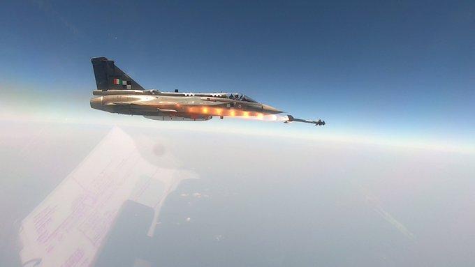 Tejas-Python missile
