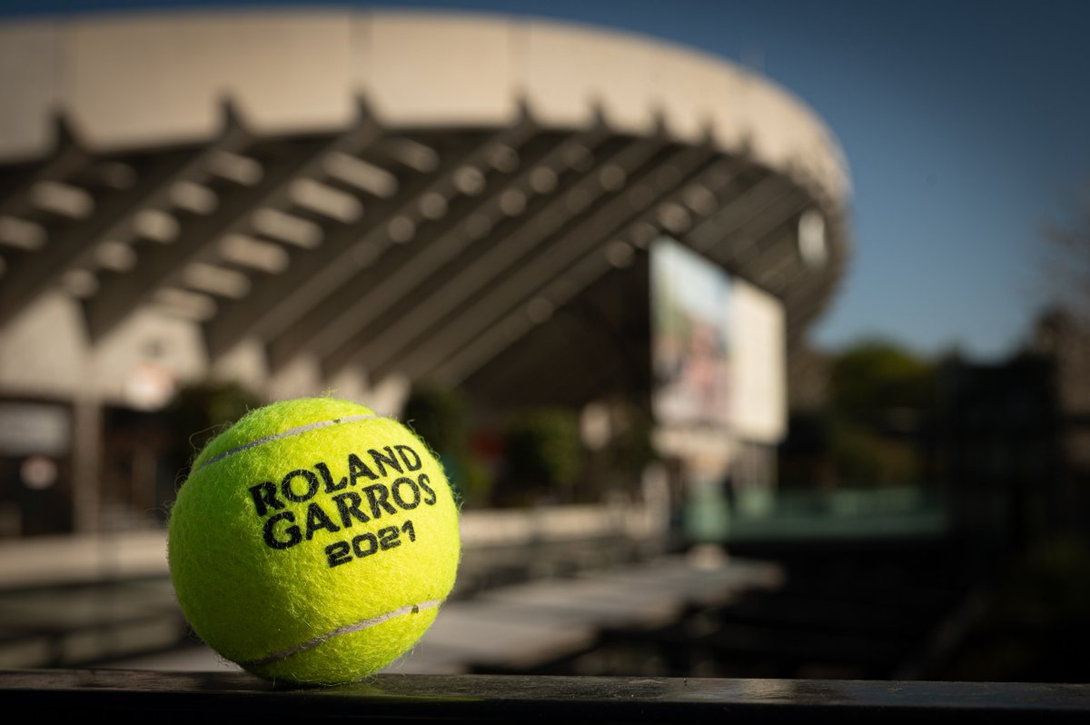 French Open 2021 tennis ball