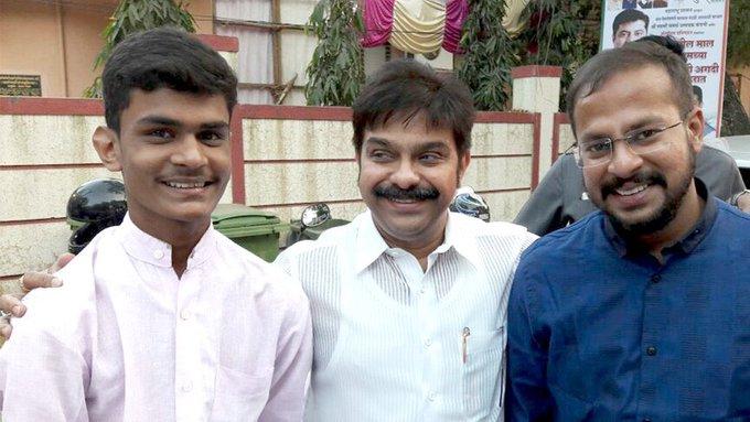 Family Friend, MLC, Vice President Shri kaka Wishing you a very Happy Birthday!!