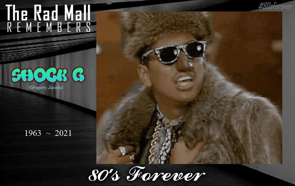 The Rad Mall Remembers:  #ShockG 🎤 #WalterMondale 🇺🇸  #80sForever
