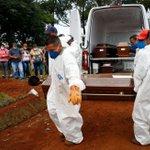Image for the Tweet beginning: #Brasil suma 3.086 muertes diarias