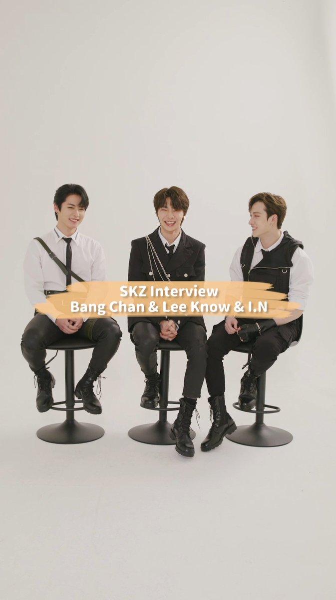 毎週土曜18時より「smash.」にて配信中のStray Kids 独占インタビュー ✨  本日は「SKZ Interview : Bang Chan & Lee Know & I.N」編を公開!  ぜひご覧ください❣ smash-media.jp/channels/97  #StrayKids #スキズ  #スキスマ