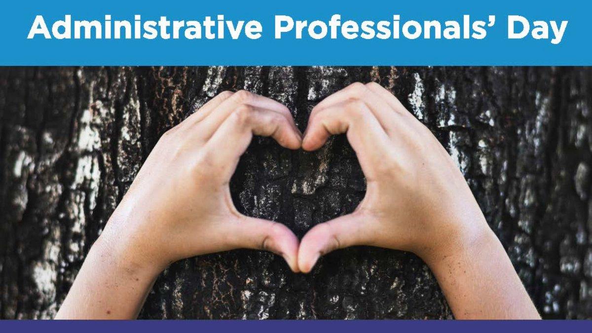 @PeelSchools's photo on Administrative Professionals