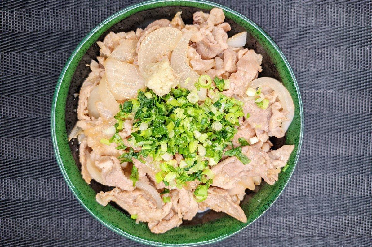食が進みまくる絶品料理!アレンジしやすい「ネギポン生姜焼き丼」