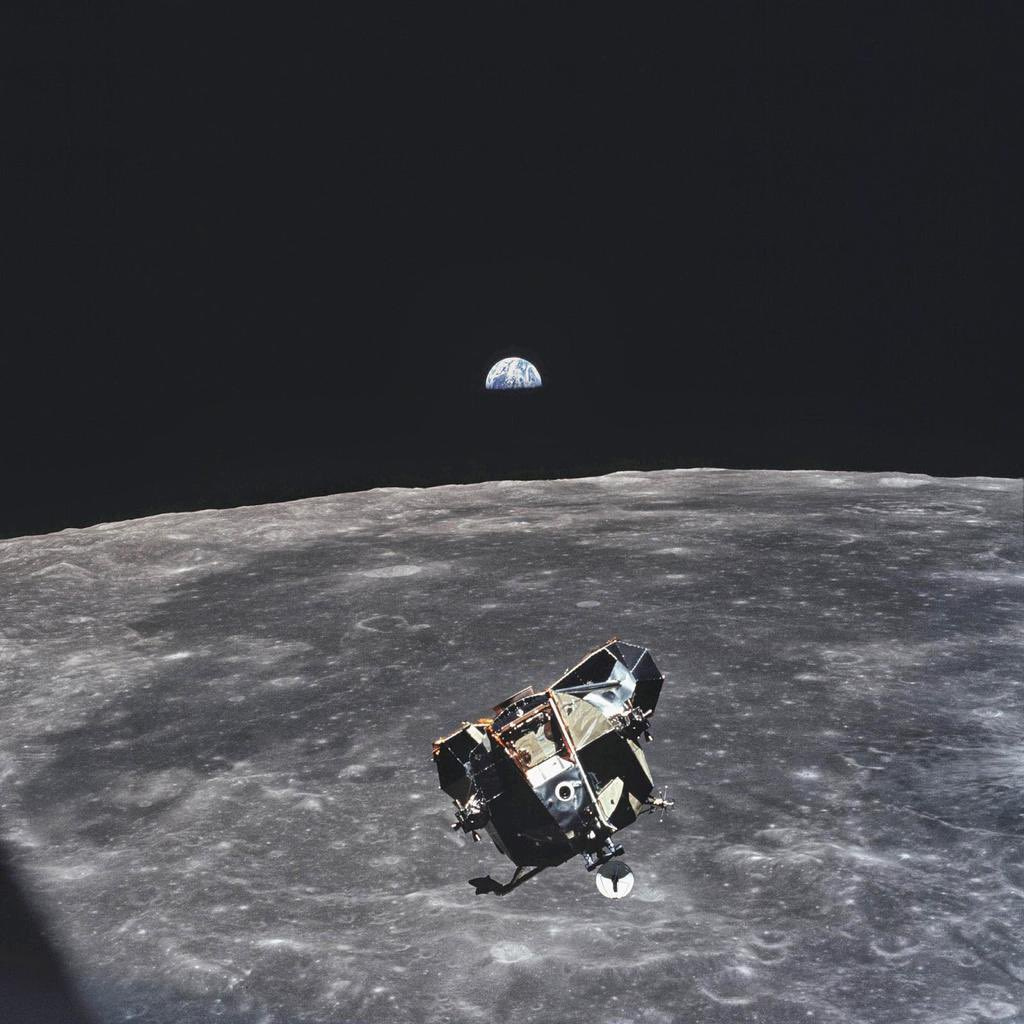 RIP Michael Collins, astronaut and photographer of every living human but one.