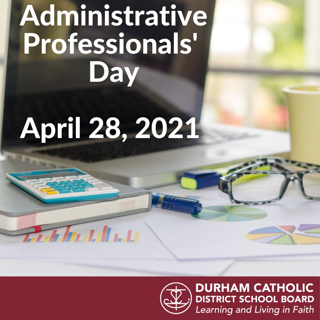 @DurhamCatholic's photo on Administrative Professionals