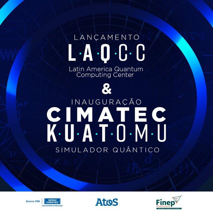 📹 Assista o lançamento do Latin America Quantum Computer Center (LAQCC), no dia 05/05...