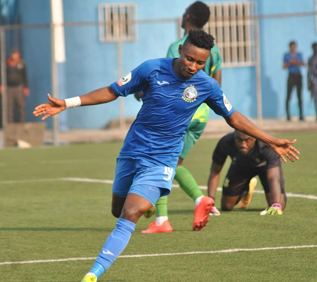 Late Olisema Strike Shoots Enyimba To CAFCC Quarterfinals