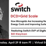 Image for the Tweet beginning: Watch the #DCDGridScale presentation: How