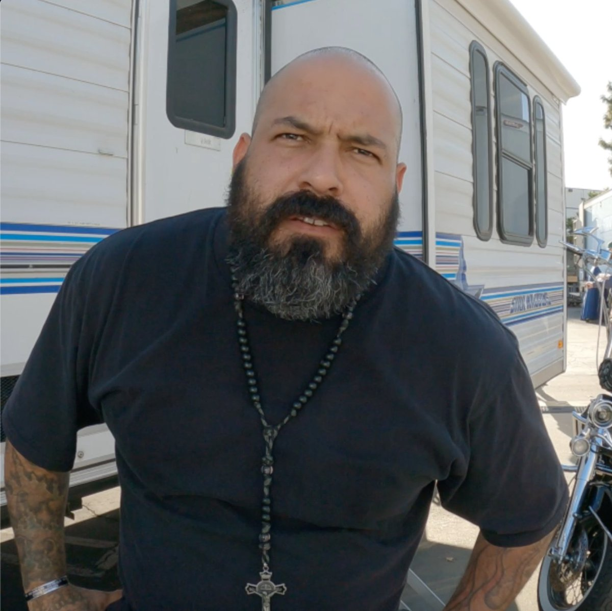 .@thereal_rocco discusses acting, love, and... constipation. #MayansFX
