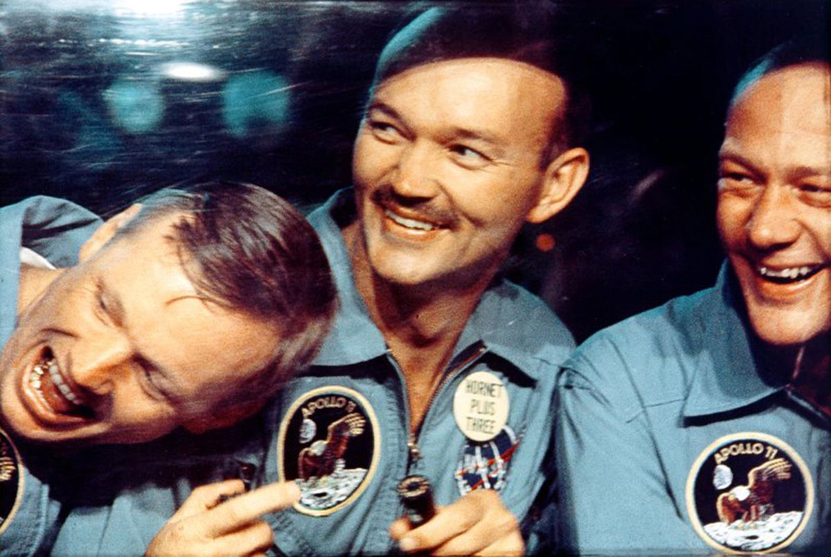 """""""This trip of ours to the Moon may have looked, to you, simple or easy… All you see is the 3 of us, but beneath the surface are thousands and thousands of others, and to all those I would like to say, thank you very much.""""   - Michael Collins, Apollo 11  https://t.co/qFmsc0MKfg"""
