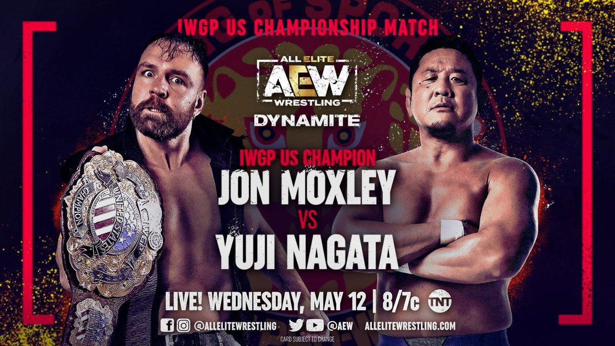 Jon Moxley To Defend IWGP US Title Against Yuji Nagata On AEW Dynamite