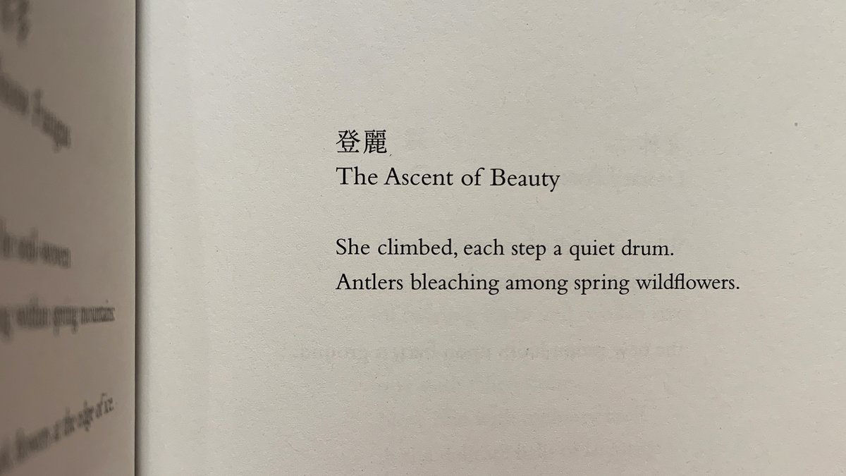 test Twitter Media - RT @_IanBoyden: April 28. Today is the birthday of The Ascent of Beauty.  #AForestOfNames @weslpress https://t.co/JzCqHhe7Ee
