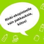 Image for the Tweet beginning: Onko suunnitelmissa #kevätsiivous? 🧹Rinki-#ekopiste'elle voit tuoda