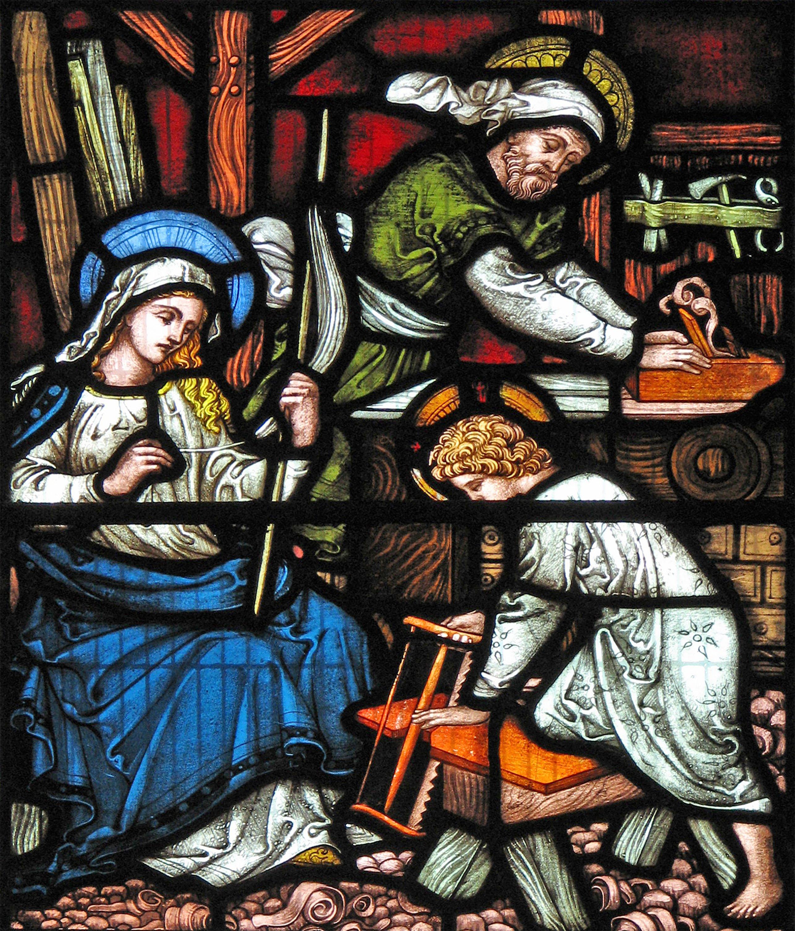 Saint Joseph worker