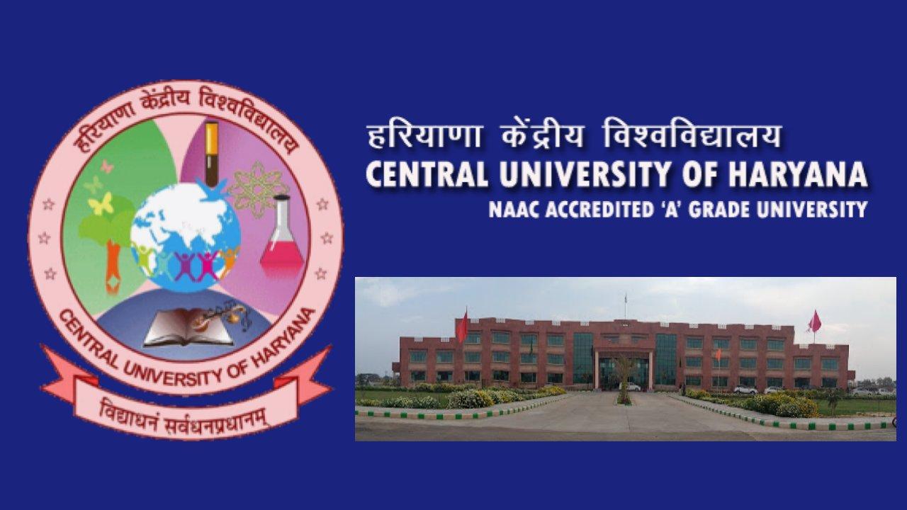 Recruitment in Central University of Haryana, through Direct Recruitment, India