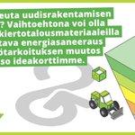 Image for the Tweet beginning: Katso kiertotalousvalmennuksen ideakorteista vinkkejä KIRA-alan
