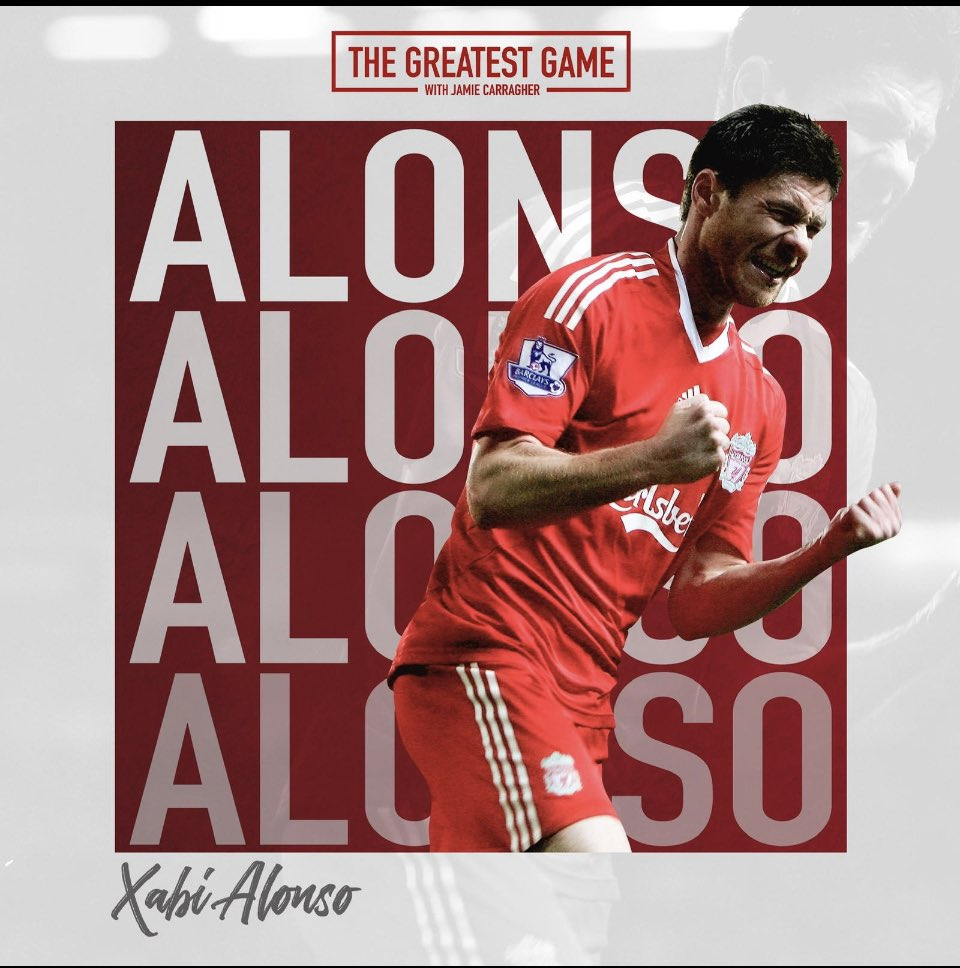 New series! @GreatestGamePod 🎙🎧  The Pass Master @XabiAlonso  • Istanbul 🏆 • Ringing me after winning      Euros pissed 📱 • El Classico 🇪🇸  • Jose or Pep 🤔 • Management 📚   https://t.co/waKG6IQ0Vb https://t.co/kFxhf9OLxB