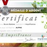 Image for the Tweet beginning: #alpha_info #certification : Votre imprimerie