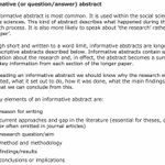 Image for the Tweet beginning: How to write an abstract,